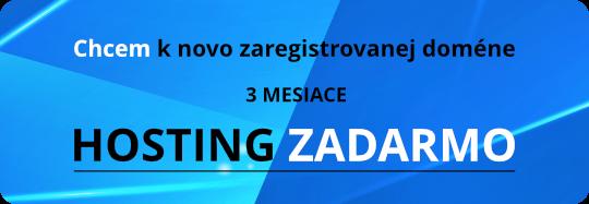 hosting zdarma