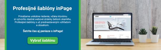 Profesijné šablóny inPage.sk